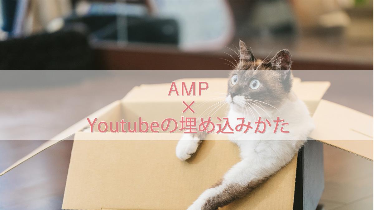 【AMP】TwitterなどのSNSやYoutubeを埋め込む方法