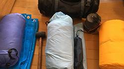 ソロキャンプツーリングに行こうと思う。必要な道具は何?
