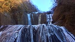 冬の青春18きっぷで袋田の滝と偕楽園に行ってきた。