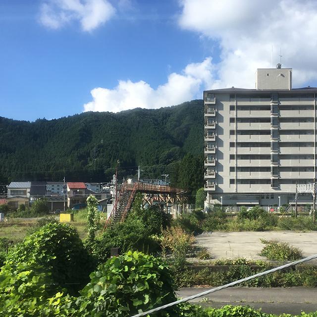 東武日光線からの車窓