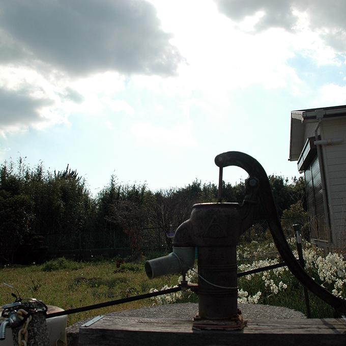 岩井駅の井戸